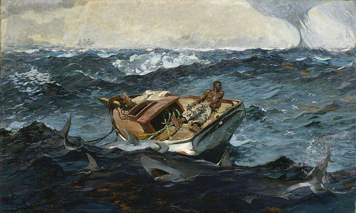 Arte marinha e pinturas inspiradas no mar, navios e velejadores, por artistas famosos