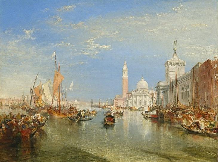 Aquarelas de J.M.W. Turner