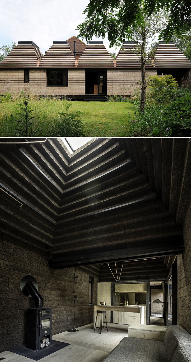 Os vencedores do AMP 2020 são os melhores em Design de Arquitetura Verde: Cork House por Matthew Barnett Howland