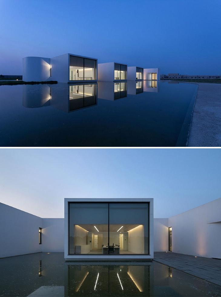 Vencedores do AMP 2020: Melhor em projeto arquitetônico de edifícios industriais: Laboratório da Shihlien Biotech Salt Plant por Stephen Wang