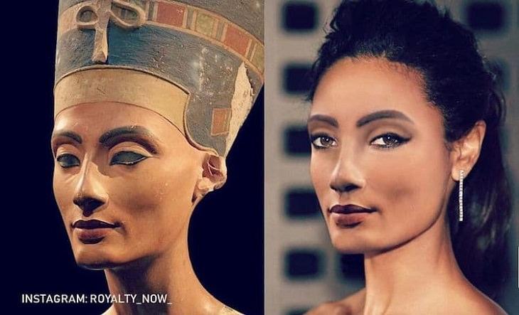 Figuras históricas recriadas