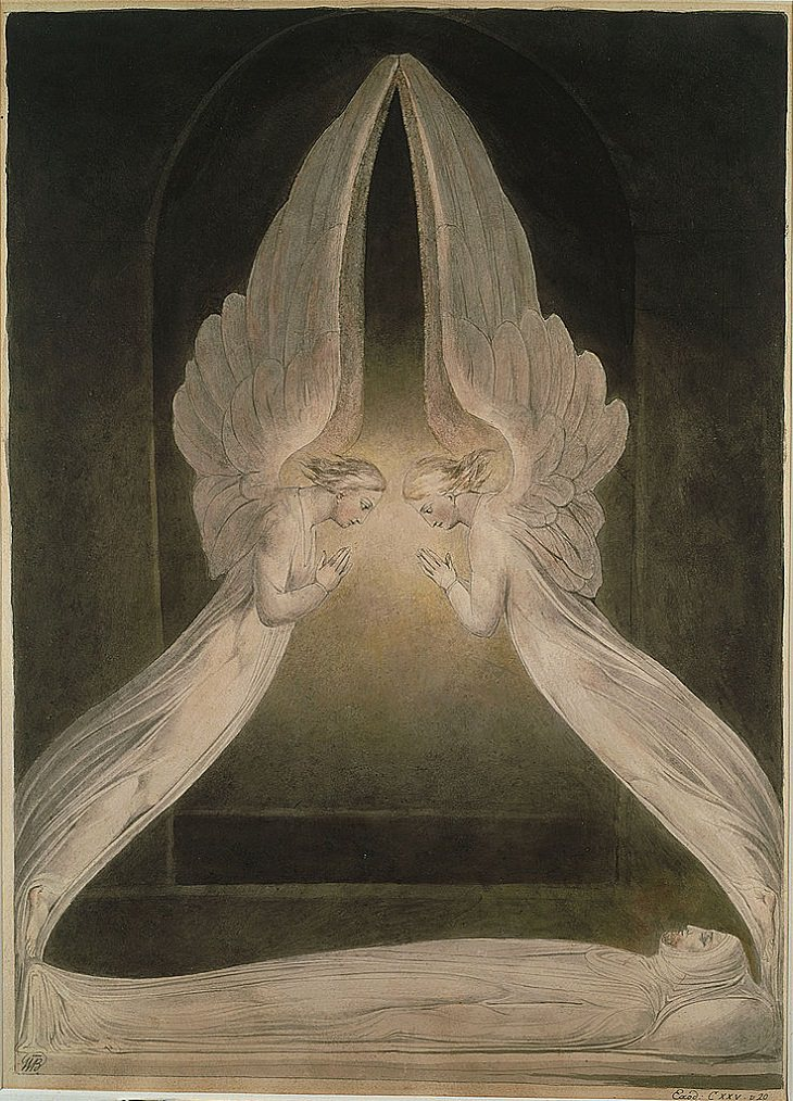 Pinturas de William Blake