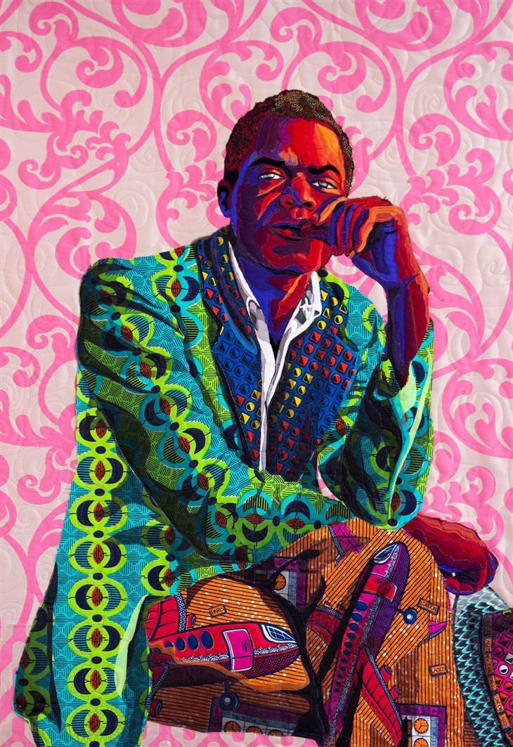 """A arte do quilt afro-americano """"Eu não sou teu negro"""""""