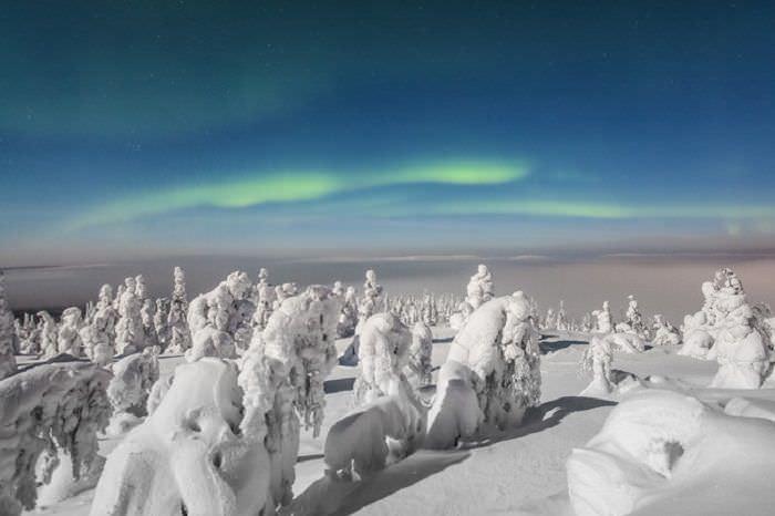 Admire a bela solidão do Ártico