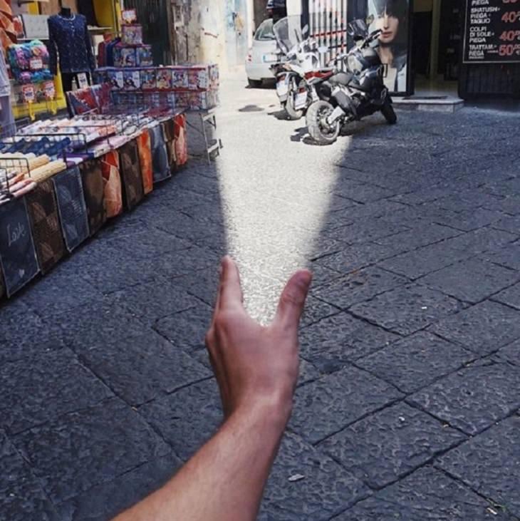 Ilusão de óptica - uma questão de ângulo e momento - Tiago Silva