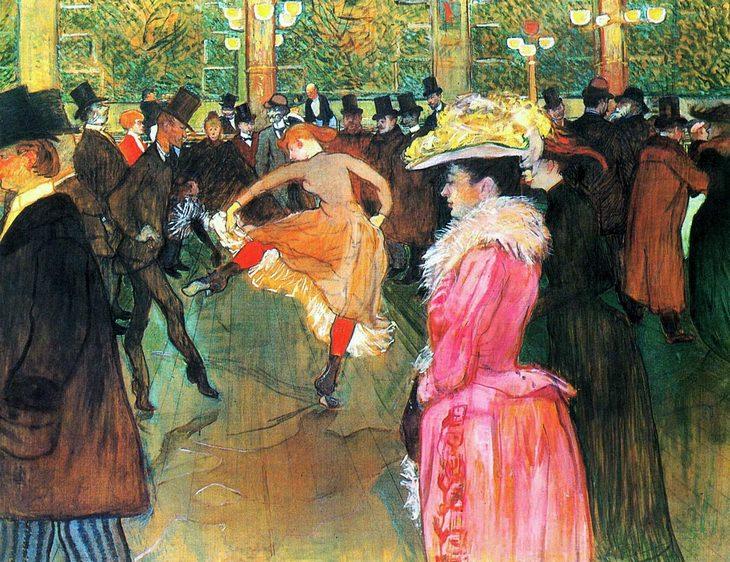 Perfil de artista: Henri de Toulouse-Lautrec - No Moulin Rouge