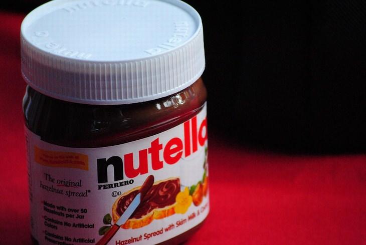 Nomes proibidos para pessoas: Nutella