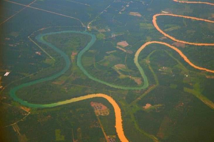 1. Río Selangor, Malasia