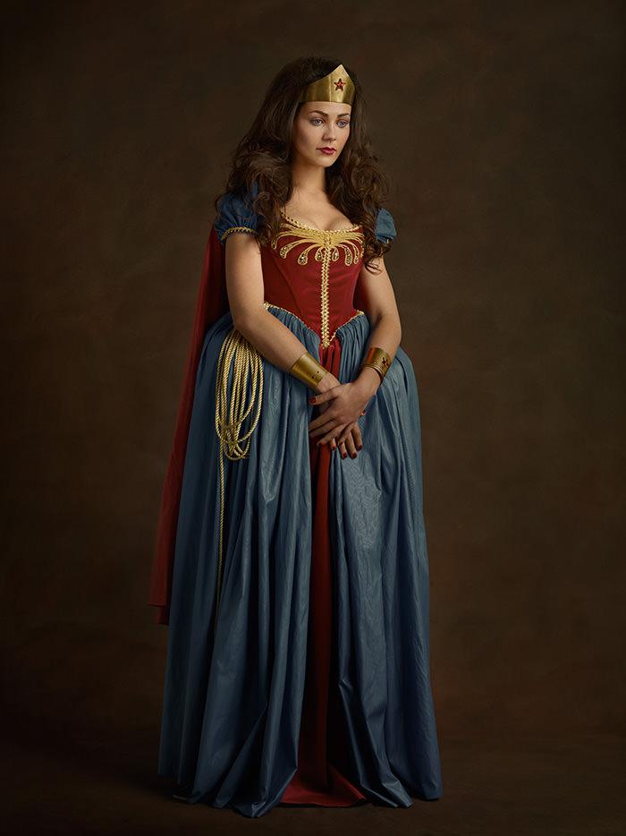 Super-herois do século XVI mulher maravilha