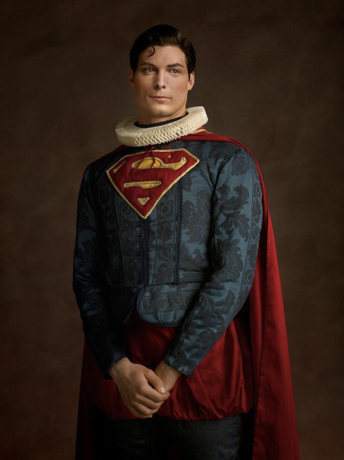 Super-herois do século XVI Super Homem