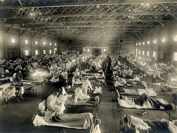 6 epidemias mortais da nossa história Influenza ou gripe espanhola
