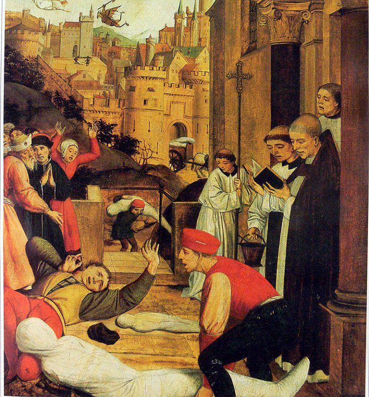 6 epidemias mortais da nossa história Praga de Justiniano