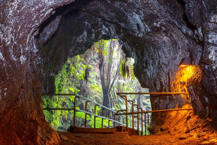 Parques nacionais famosos que você pode visitar on-line Hawaii Volcanoes