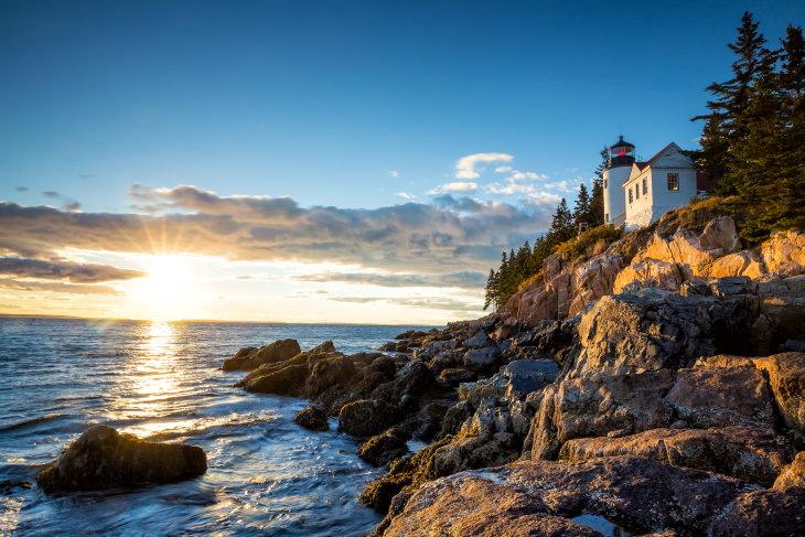 Parques nacionais famosos que você pode visitar on-line Acadia National Park