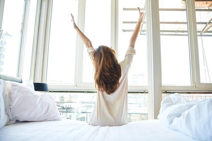 Comece ao acordar
