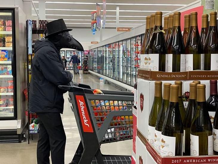 No supermercado em tempos de Covid-19