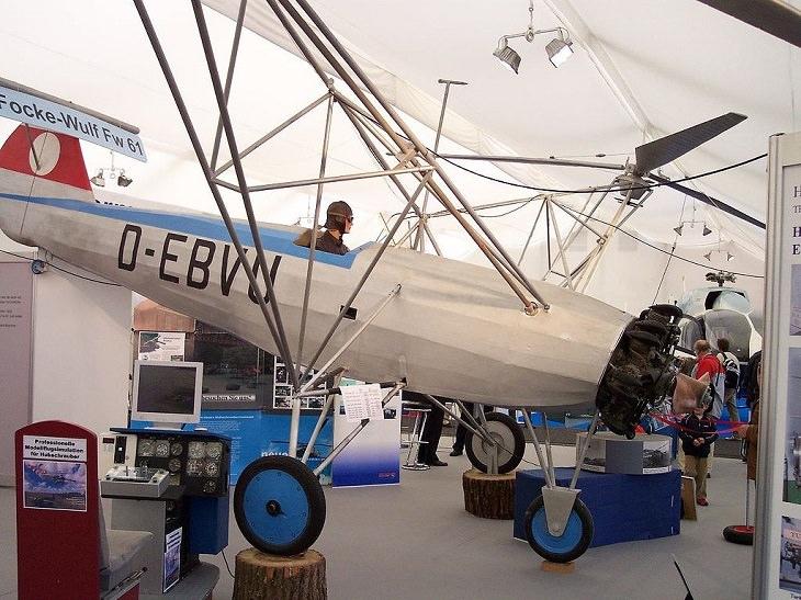 Focke-Wulf Fw-61, o primeiro helicóptero construídono mundo