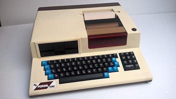 História dos primeiros laptops Portal R2E CCMC