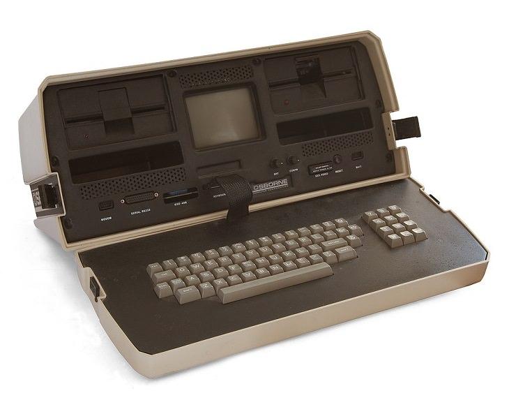 História dos primeiros laptops  Osborne 1