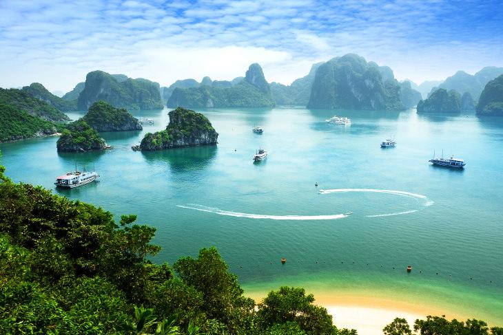 Destinos turísticos verão 2020  Vietnam