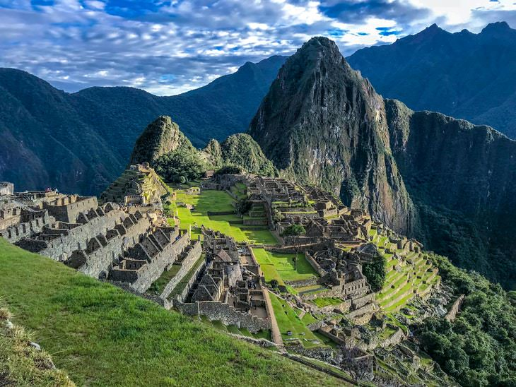 Destinos turísticos verão 2020  Machu Picchu