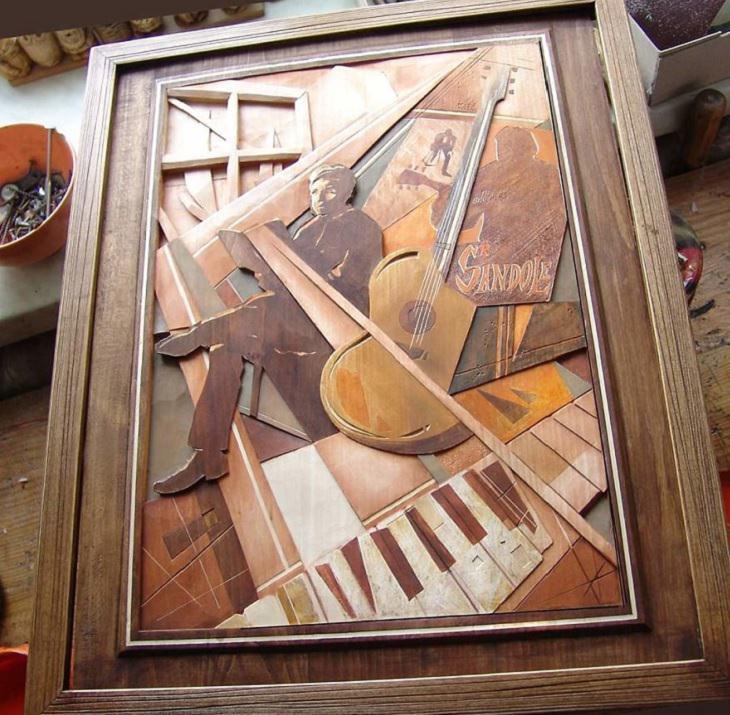 Uma homenagem ao músico de jazzDennis Sandole