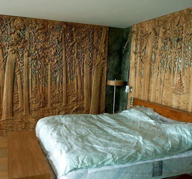 Que tal dormir nesta floresta?