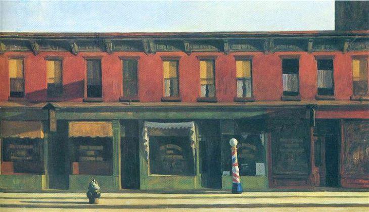 Domingo de manhã cedo, 1930 Edward Hopper