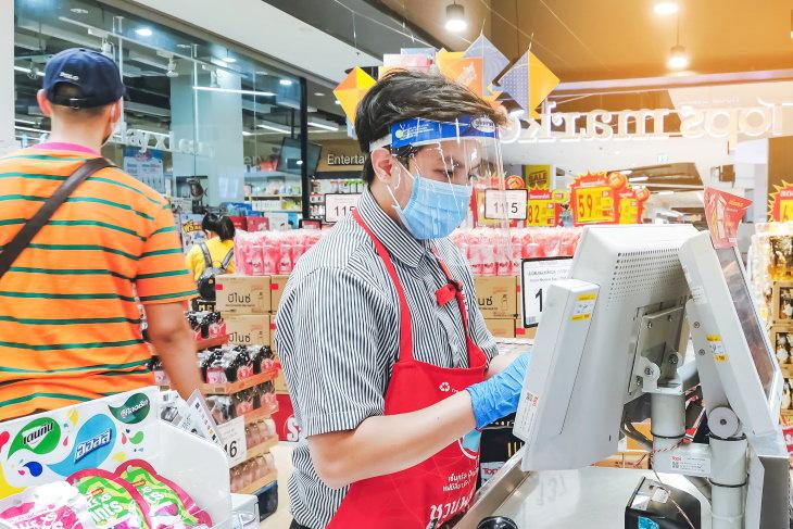 COVID-19 Má higiene nas compras nas lojas