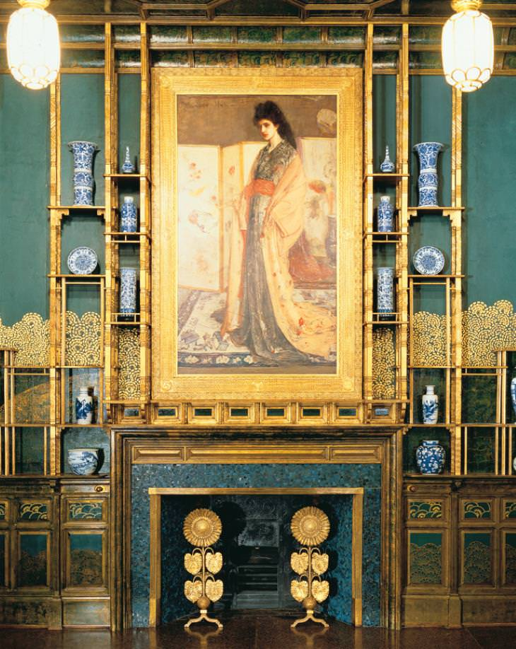 A Sala do Pavão - o delírio de um artista A princesa da terra da porcelana