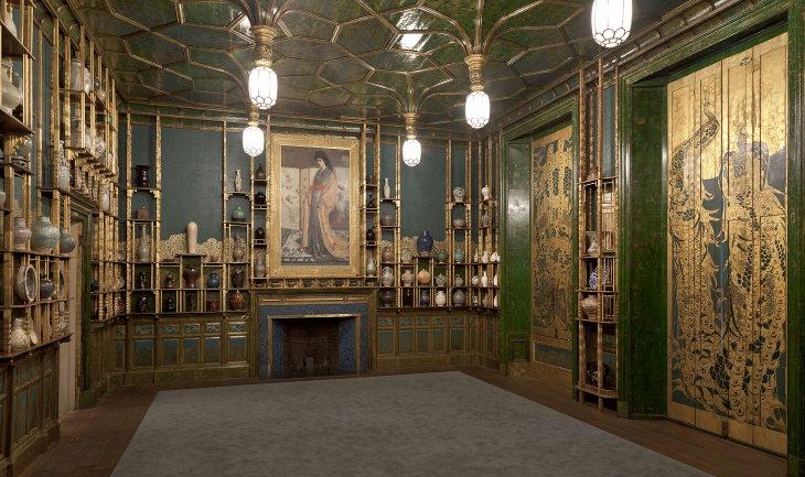 A Sala do Pavão - o delírio de um artista
