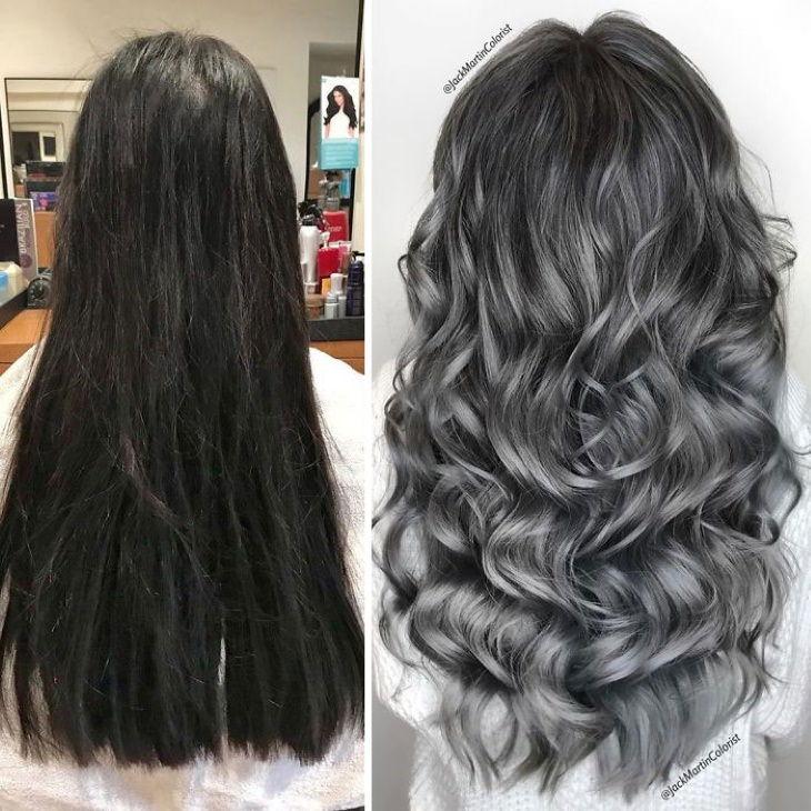 Transformações de cabelos grisalhos  por Jack Martin