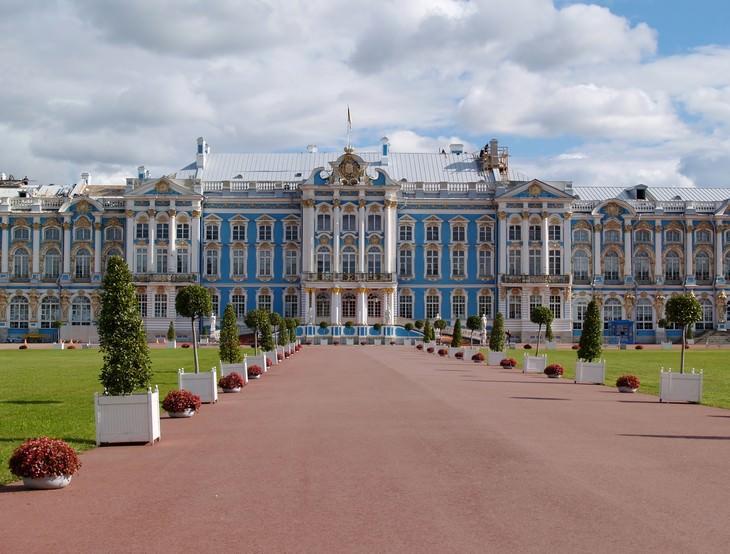 O Desaparecimento Misterioso da Sala de Âmbar Palácio de Catarina