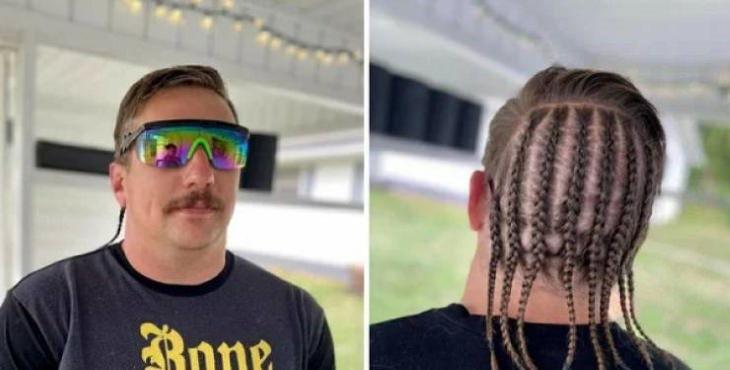 Estranhos cortes de cabelo estilo Quarentena