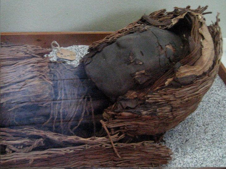 10 fatos históricos fascinantes Múmia da cultura Chinchorro,Chile