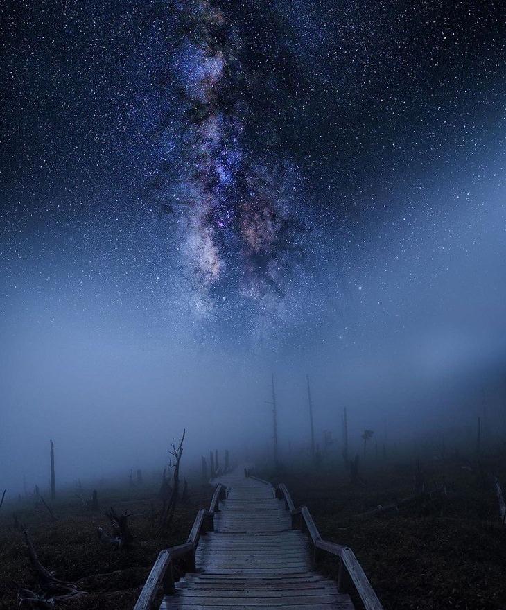 Nori Yuasa, céu noturno