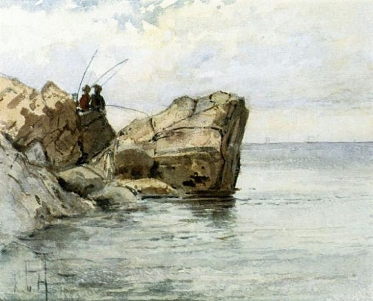 Frederick Childe Hassam, Young Fisherman, 1882