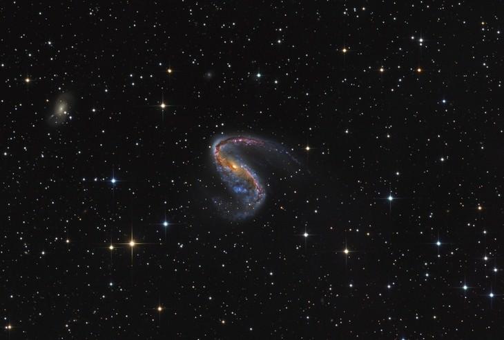 """NGC 2442 in Volans"" de Martin Pugh (Austrália)"
