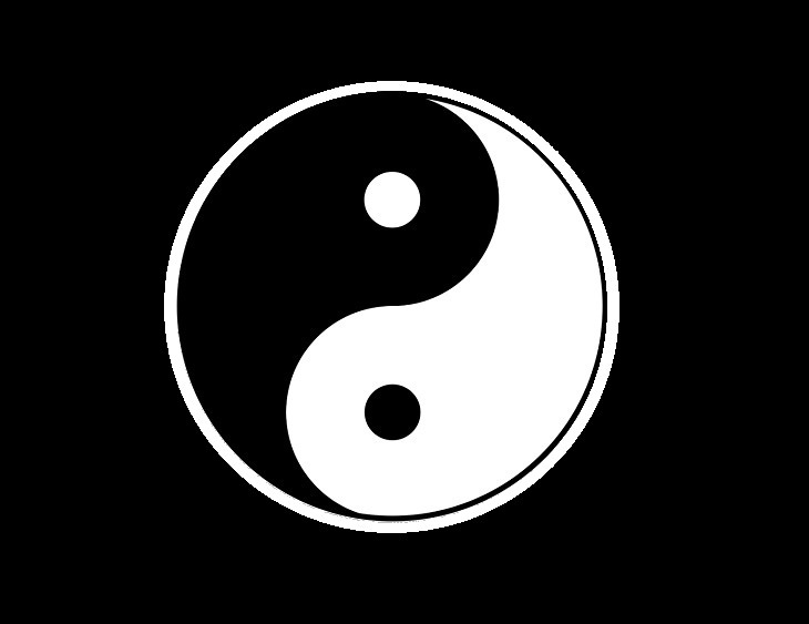 The origins, history and meanings of famous and well-known symbols and signs, yin and yang