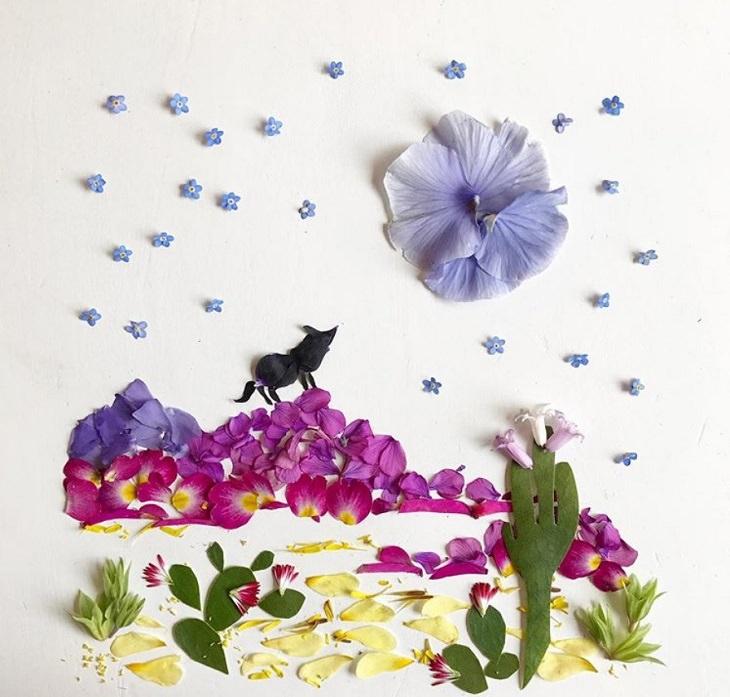 BA arte botânica de Bridget Beth Collins