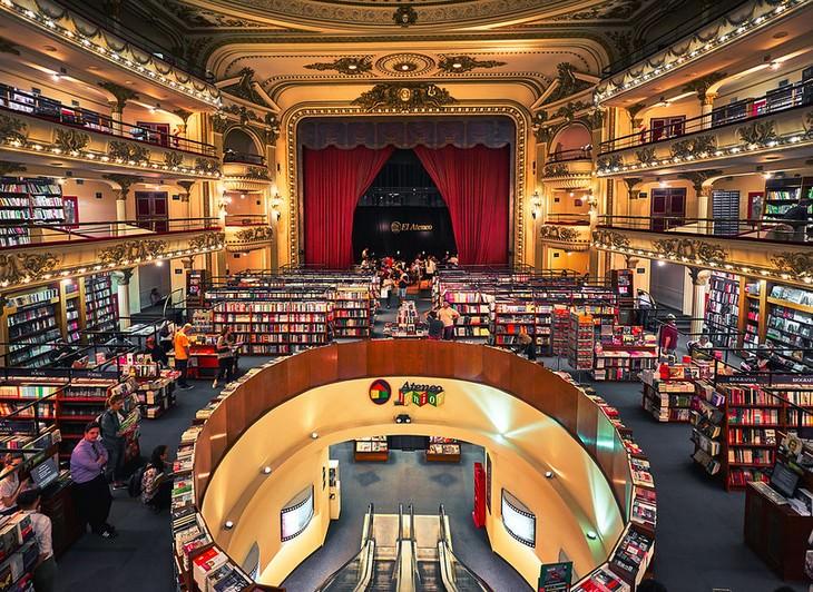 Livrarias incríveis em locais insólitos El Ateneo Grand Splendid