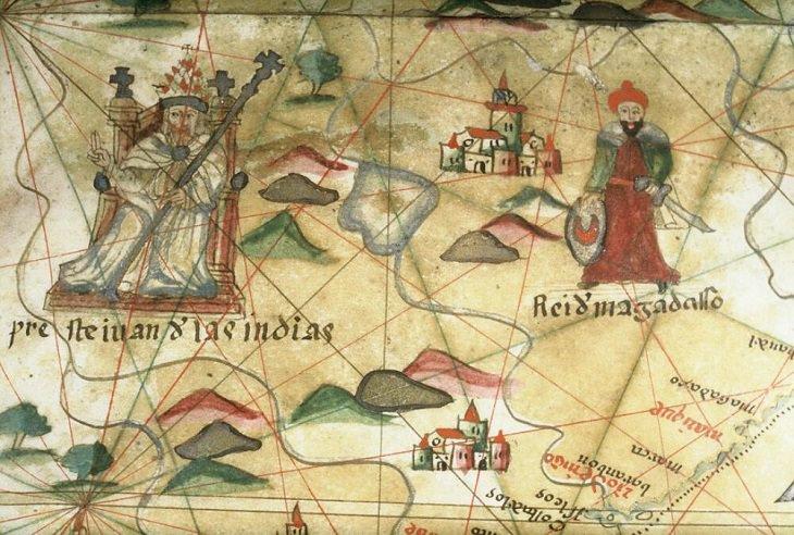 Lugares míticos Preste João