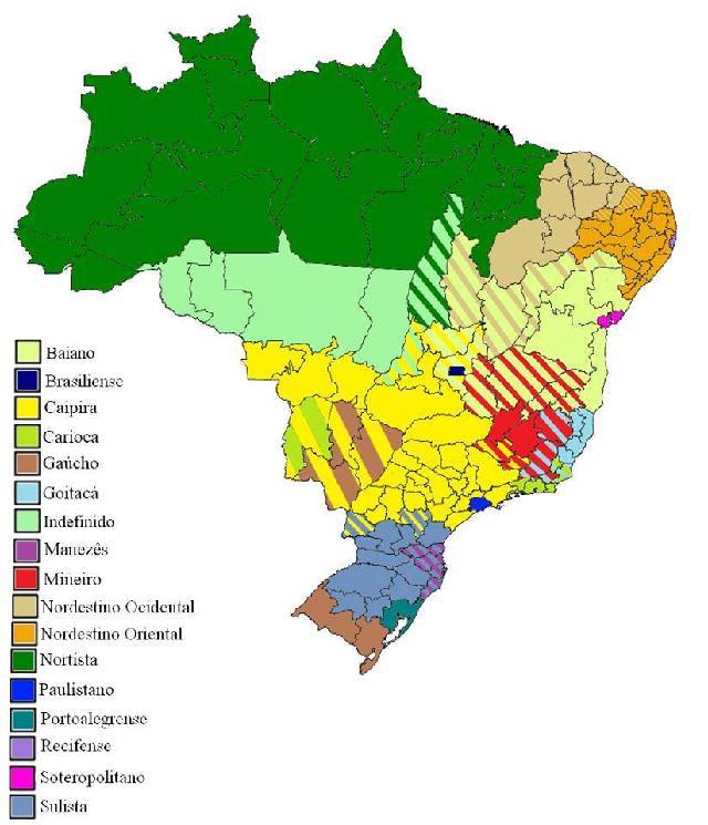 Falares do Brasil