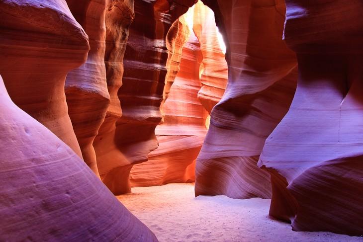 10 mais belas cavernas nos EUA  Antelope Canyon, Arizona