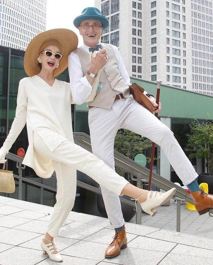 Britt Kanja and Günther Krabbenhöft,Este casal super estiloso reina em Berlim