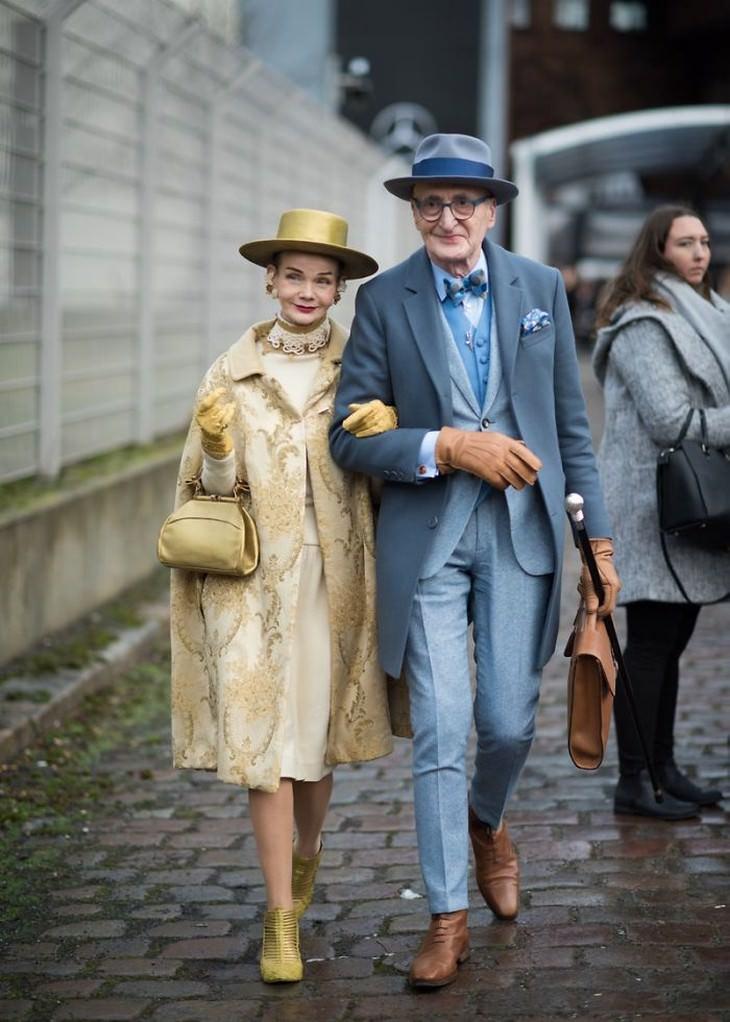 Britt Kanja and Günther Krabbenhöft, Este casal super estiloso reina em Berlim