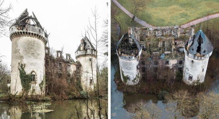 A misteriosa beleza de edifícios europeus abandonados