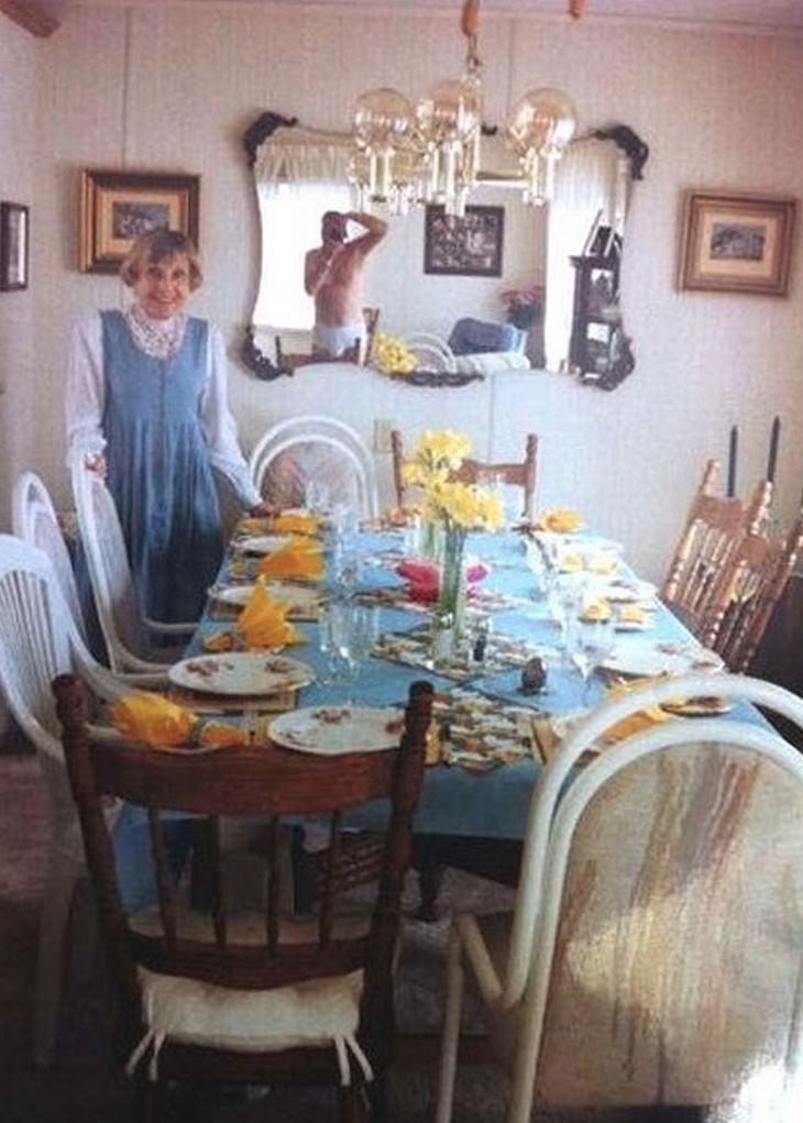Fotos de família estranhas