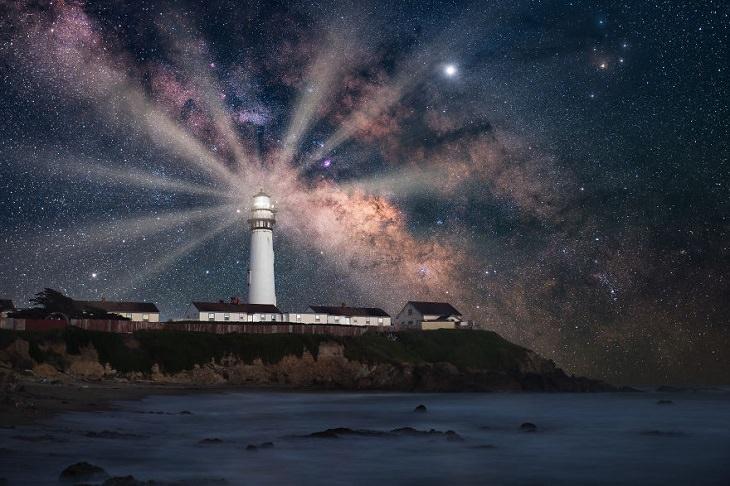 Fotografias astronômicas do céu noturno e paisagens noturnas por Marcin Zajac,