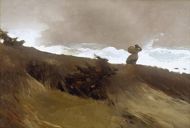 17 Pinturas famosas e encantadoras  de Winslow Homer